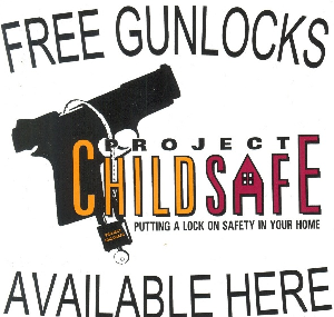 Free gun locks Child Safe Gun Safety