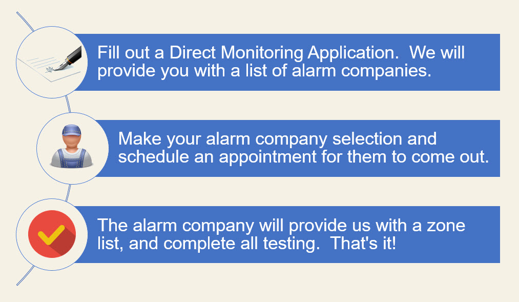 Process of getting a direct monitoring application