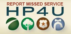 Report Missed Service HP4U