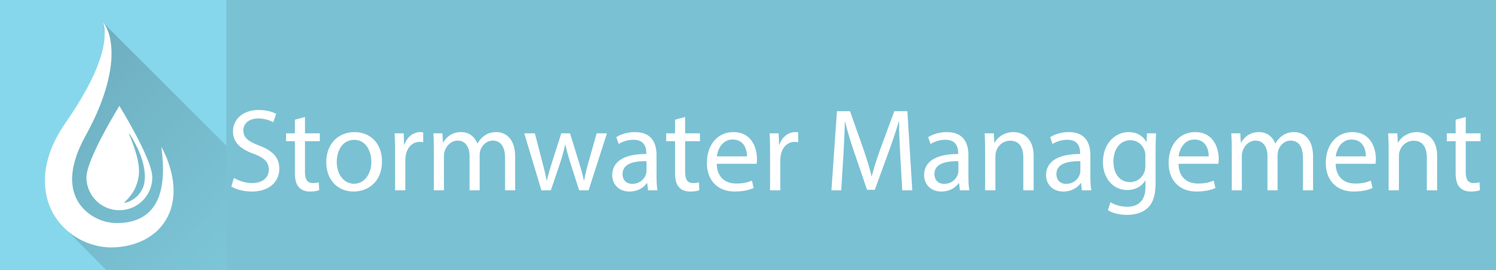 Stormwater Management Page