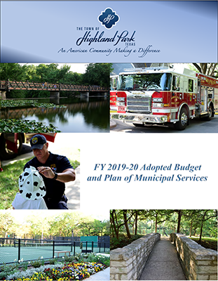FY2019 - 2020 Adopted BudgetCoverImage