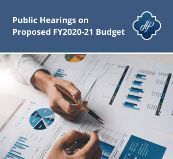 Proposed Hearing on FY2020-21 Budget