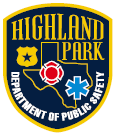 Highland Park Department of Public Safety logo