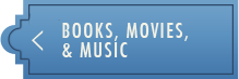 Books, Movies, and Music