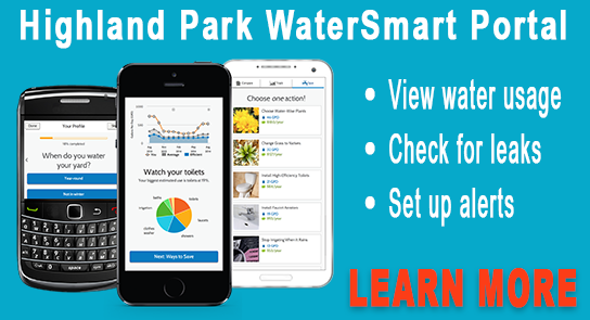 Water Smart web page