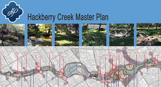 Hackberry Creek web page