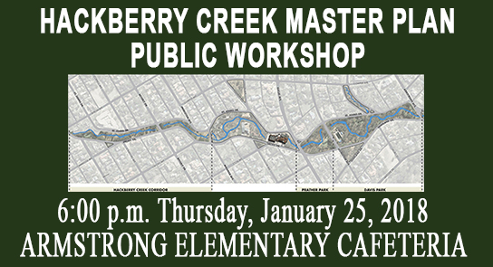 Hackberry Creek Public Workshop