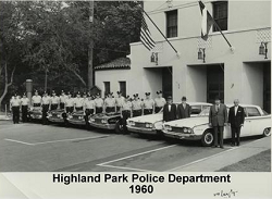 1960 Highland Park Police Department