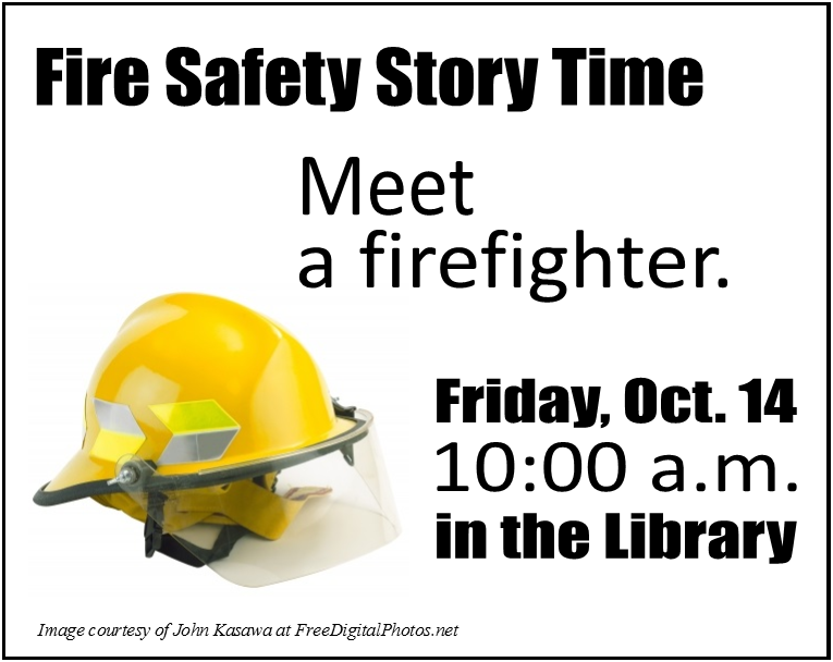 Fire Safety Story Time Image